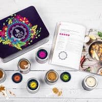 Spice Pots Engagement Gift Tin with Indian Spices